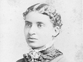 Charlotte L. Forten Grimké / photo courtesy of Schomburg Center for Research in Black Culture, Photographs and Prints Division, The New York Public Library