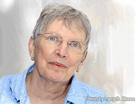 Lois Lowry, photo by Larry D. Moore / photo courtesy of Wikimedia Commons.