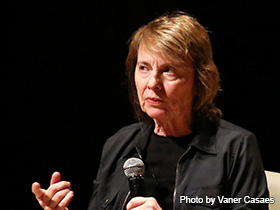 Camille Paglia, photo by Vaner Casaes / photo courtesy of Flickr. Teatro Castro Alves - Salvator.