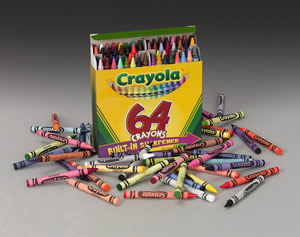 crayola colors children s memories in 64 shades and more