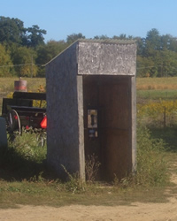 Amish Phone Box