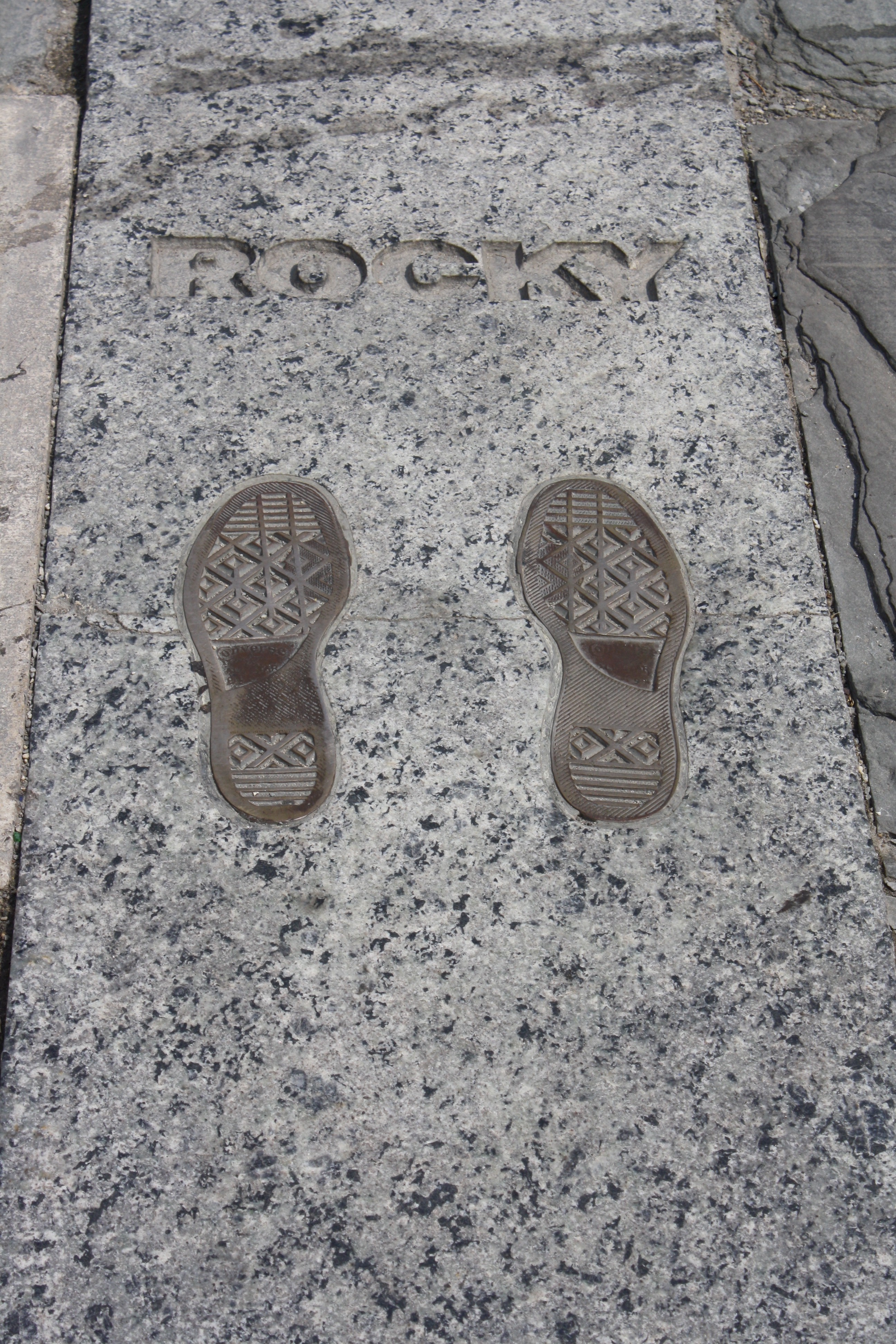 The Footprints of Rocky Balboa