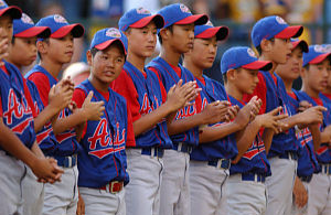 Little Leaguers from Japan