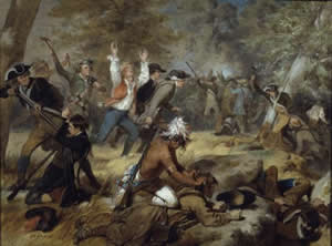 Alonzo Chappell's painting of the Battle of Wyoming