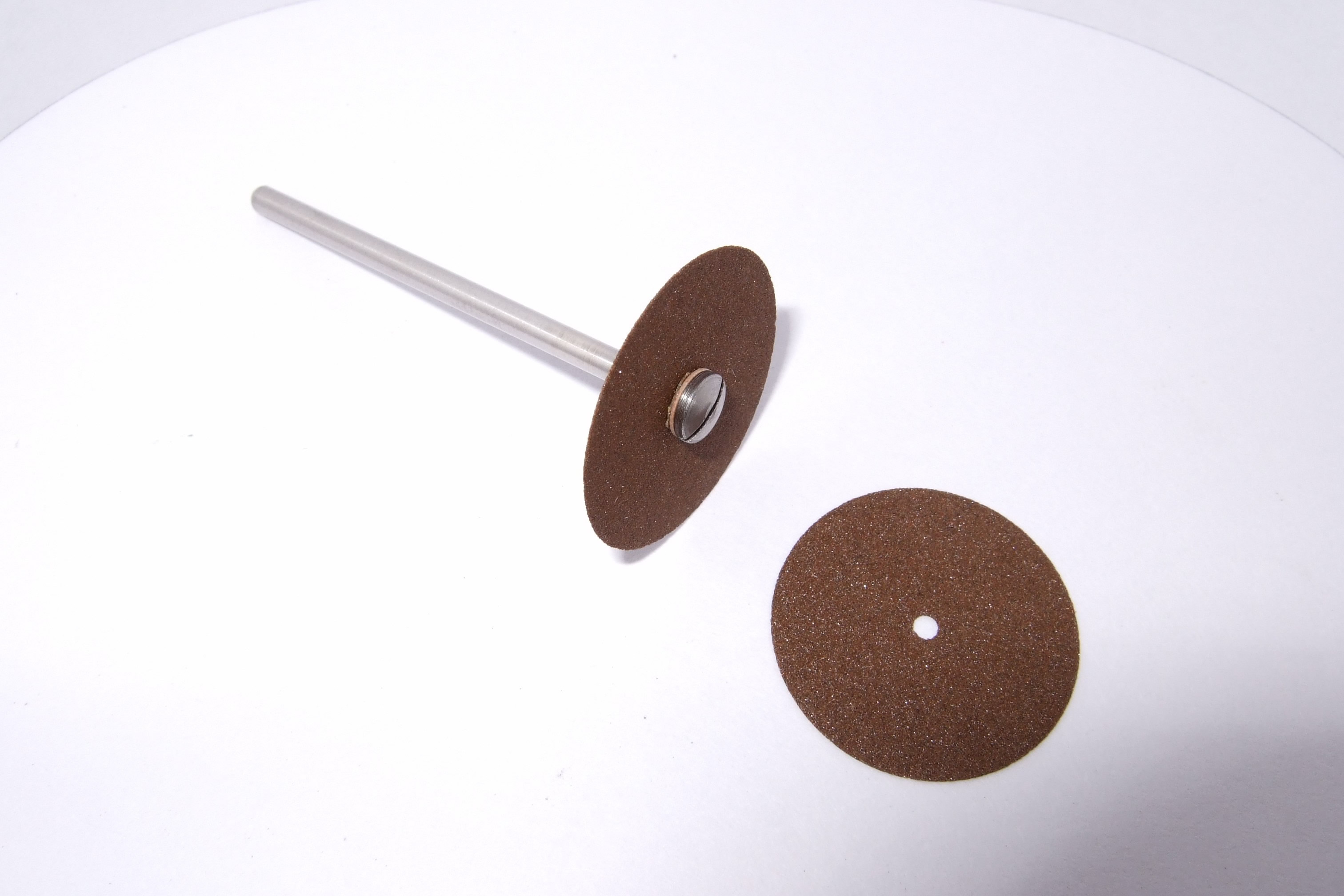 Carborundum grinding wheels