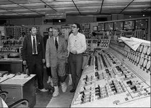 President Carter tours Three Mile Island in 1979