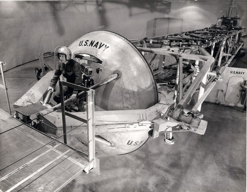 Johnsville Centrifuge in 1960