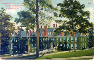 Vintage Postcard of Chandler Lab