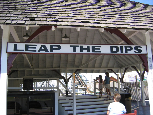 Entry to Leap the Dips