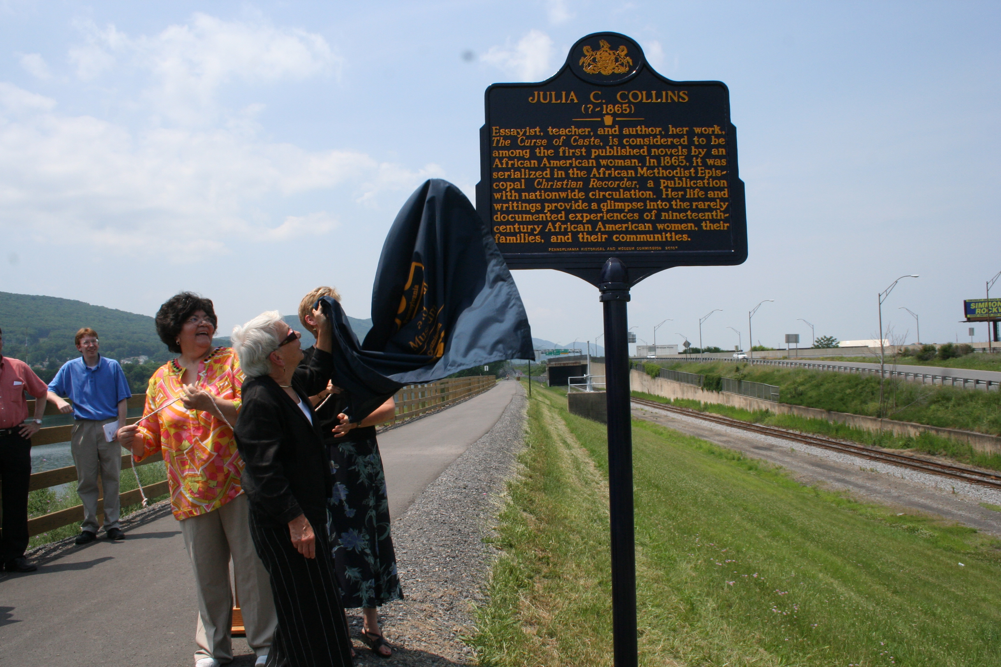 Unveiling the Historical Marker