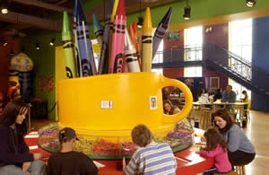 Part of the Crayola Factory