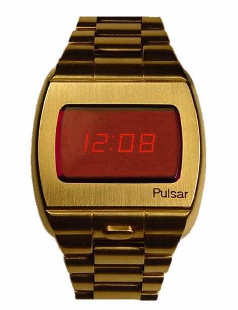 18k gold Pulsar watch