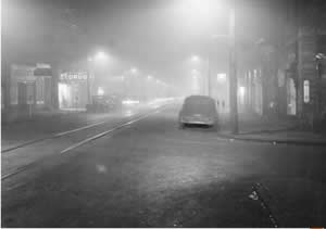 Noon in the Donora Smog of 1948