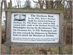 Durham Historic Sign