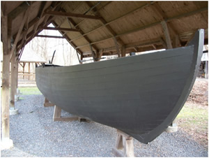 Replica of a Durham Boat