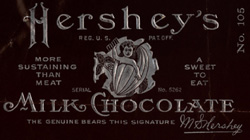 Early Hershey's Chocolate Bar