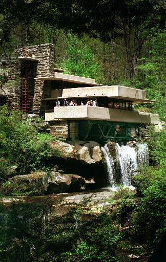 Architectural Brilliance Falling Water Pennsylvania
