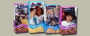 Girl Scout Cookie varieties today