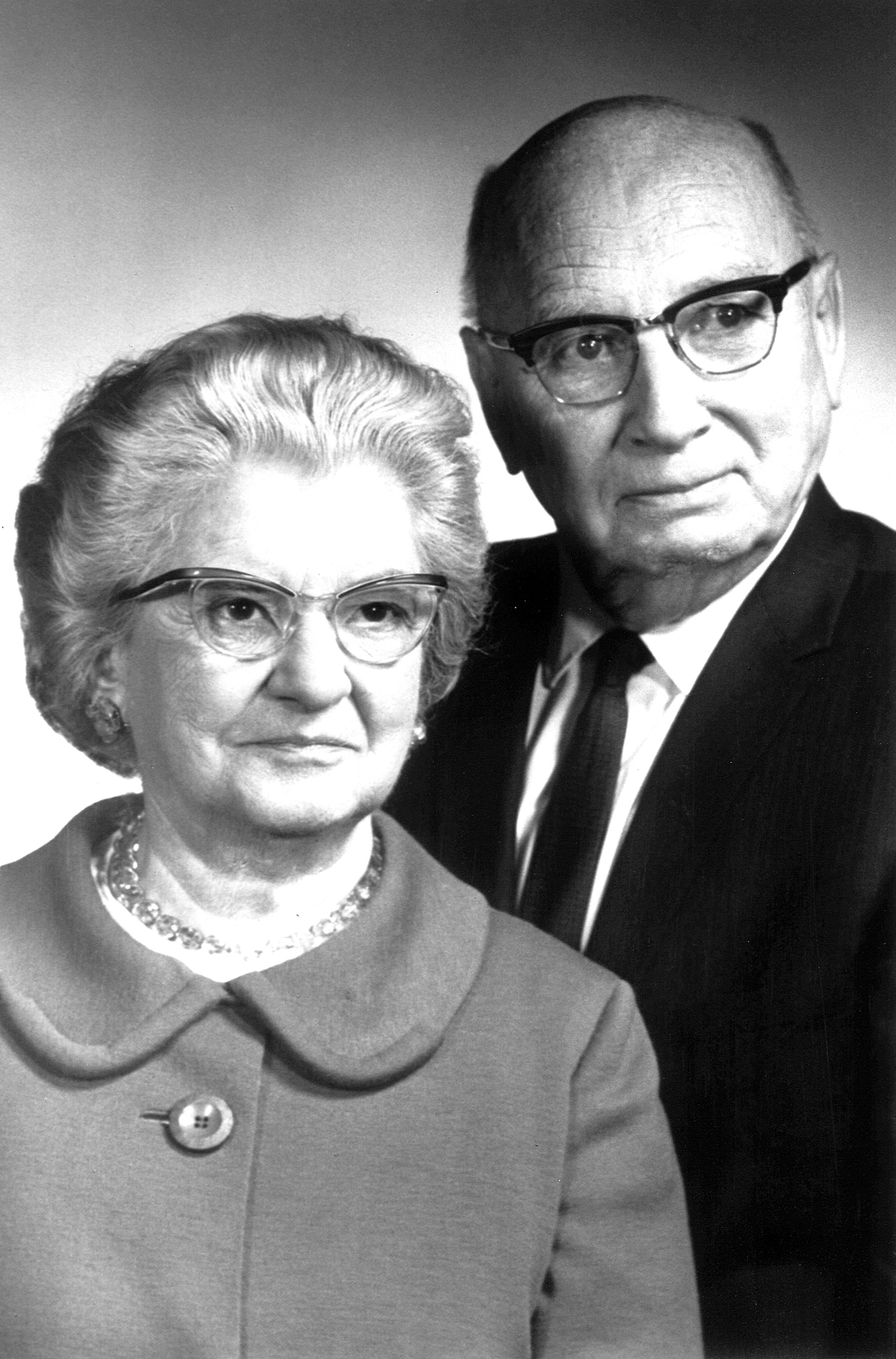 Dr. Garry Cleveland Myers and Caroline Myers