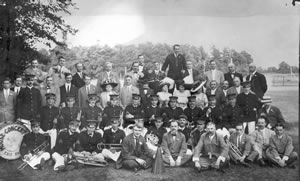 First Conference with Hammermill Agents and Wives 1912