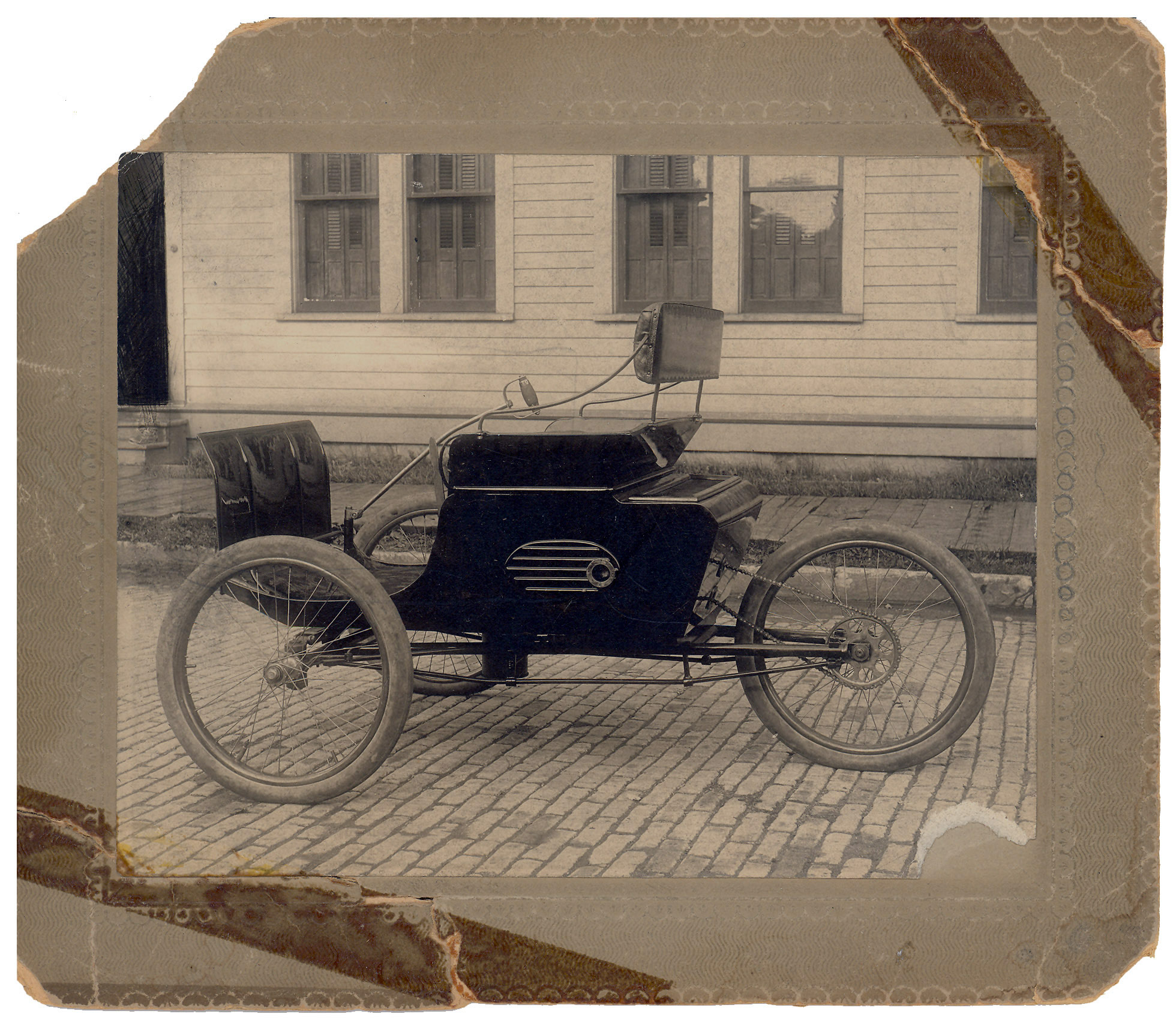 An 1897 Motor Vehicle
