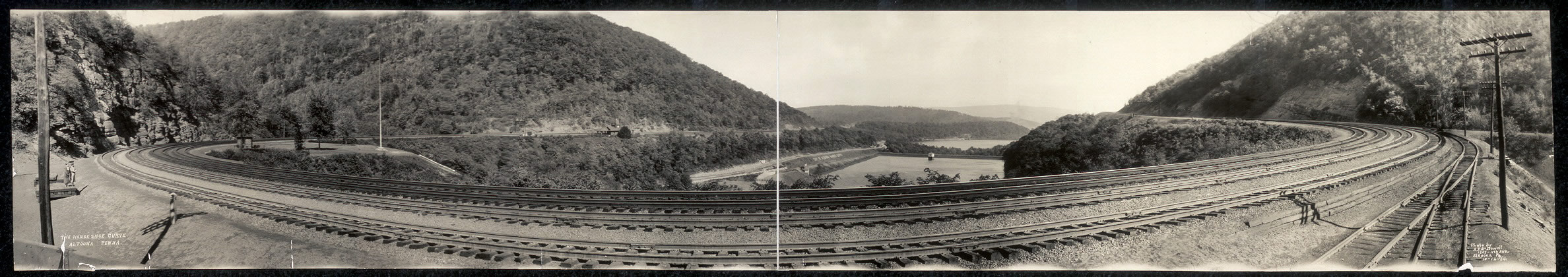 Panorama view of the Horseshoe Curve