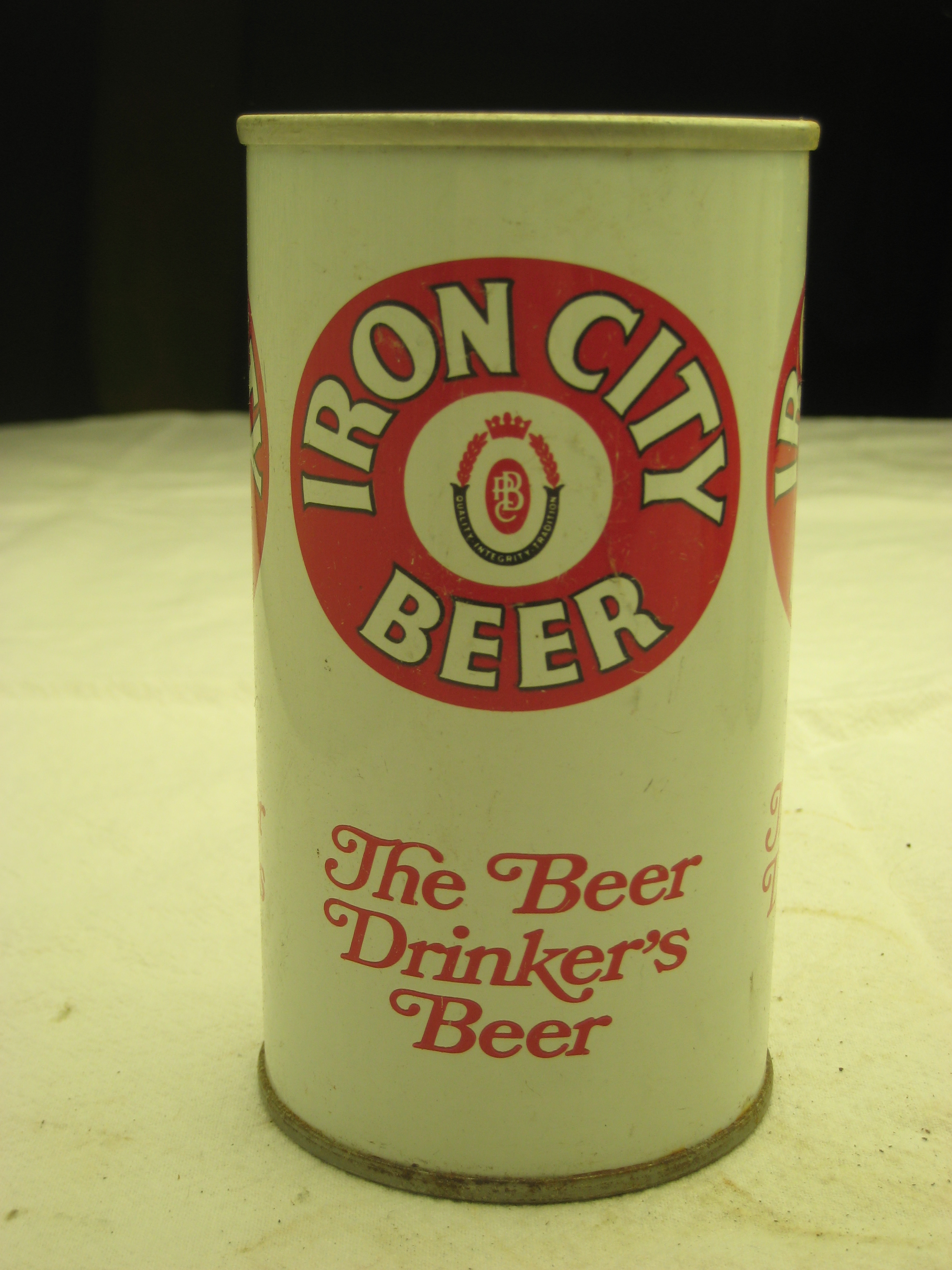 Vintage Iron City Beer can