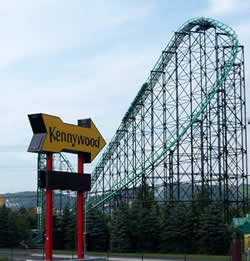 Kennywood Entrance Sign