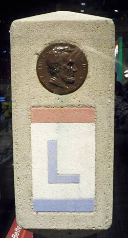 Lincoln Highway Marker