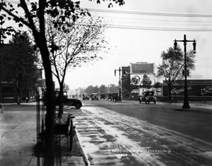 Lincoln Highway in Philadelphia in 1920