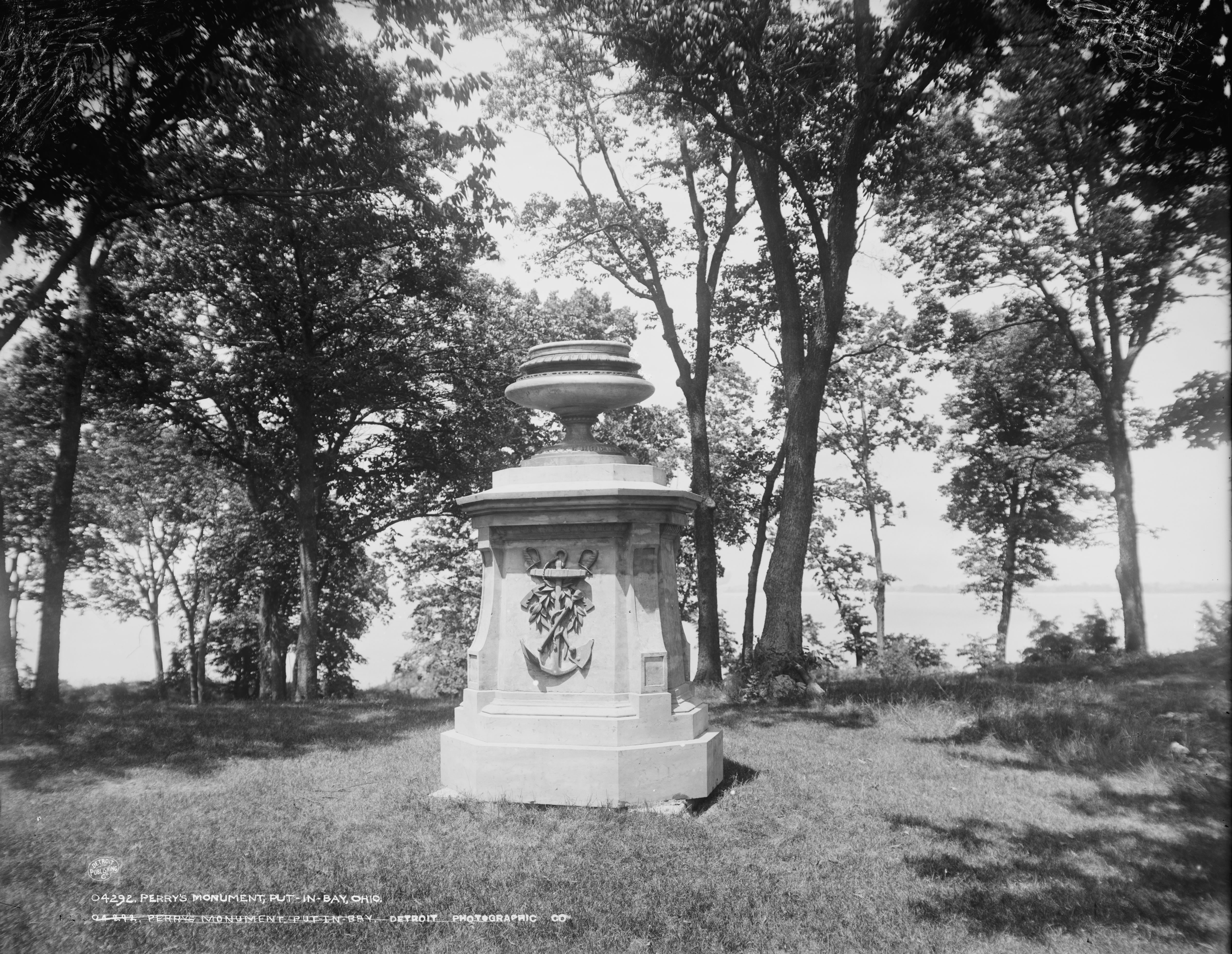 The Perry Monument in Put-in-Bay, Ohio
