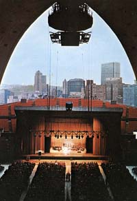 Mellon Arena configured for the Civic Light Opera