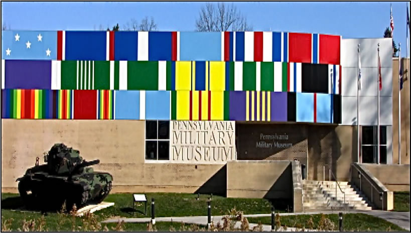 Facade of the Pennsylvania Military Museum