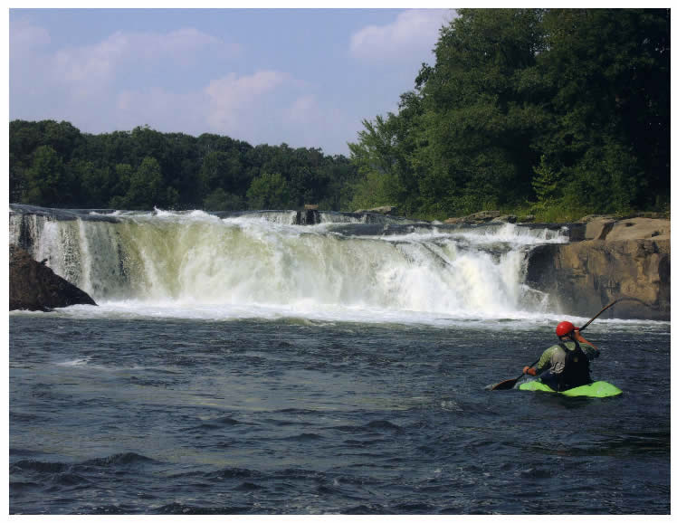 Kayaking in Ohiopyle State Park