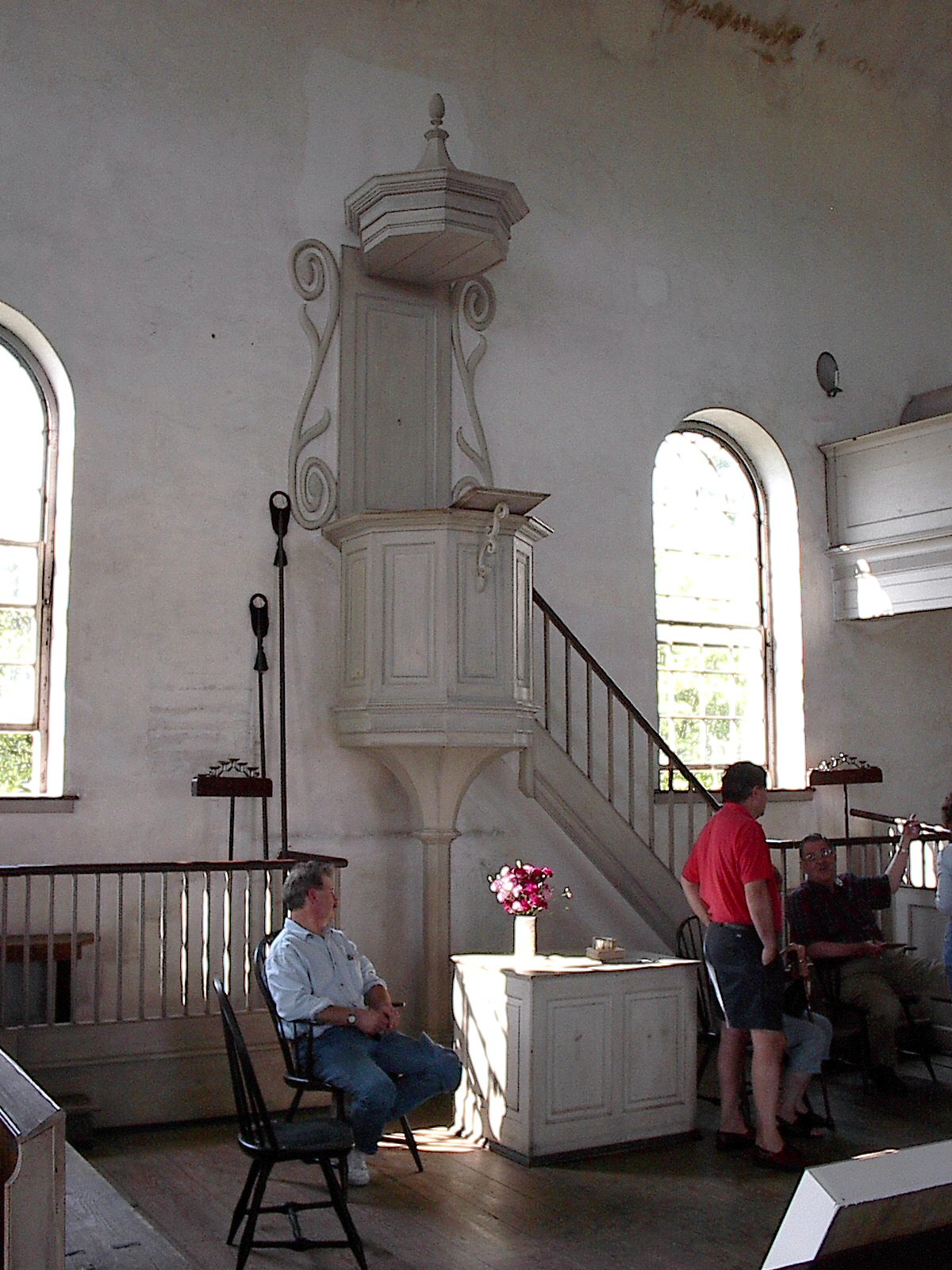 Interior of Old Zion Church