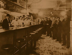 Vintage View of Primanti Brothers Shop