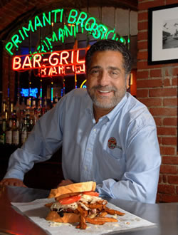 Jim Patrinos, Owner of Primanti Brothers