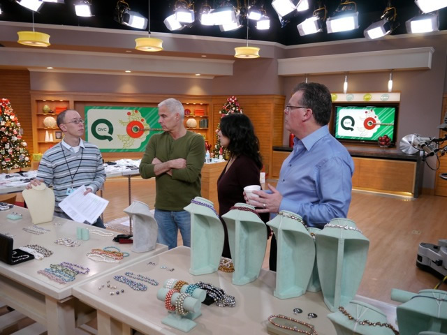QVC staff prepping for a new sales segment