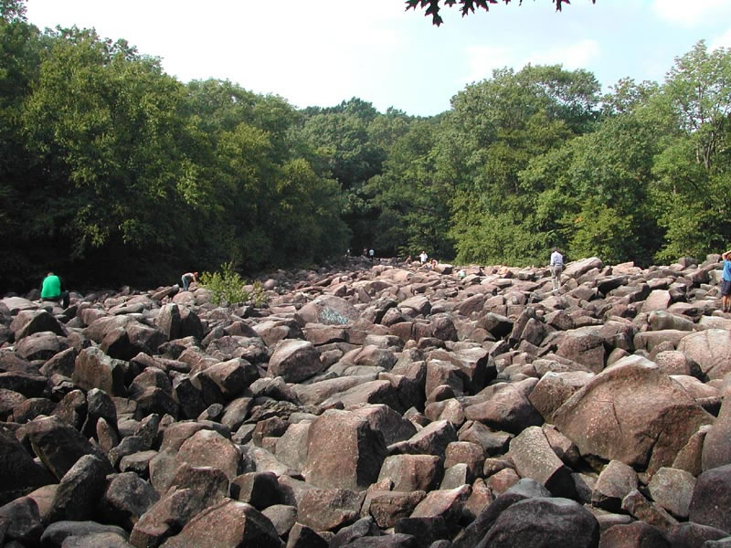 Wide View of the Boulder Field