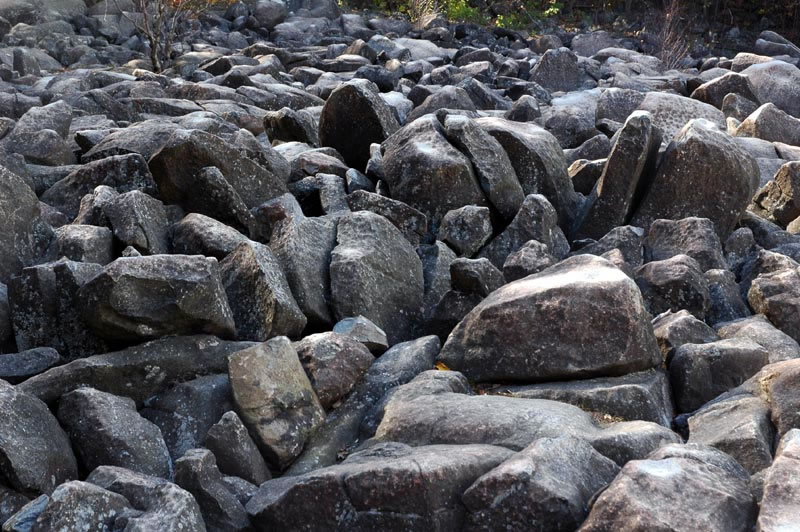 No life the Boulder Field