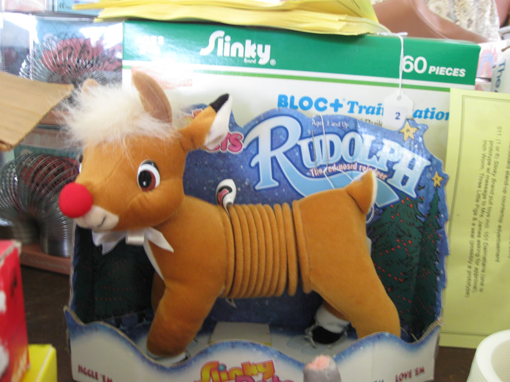 Rudolph the Red Nosed Slinky