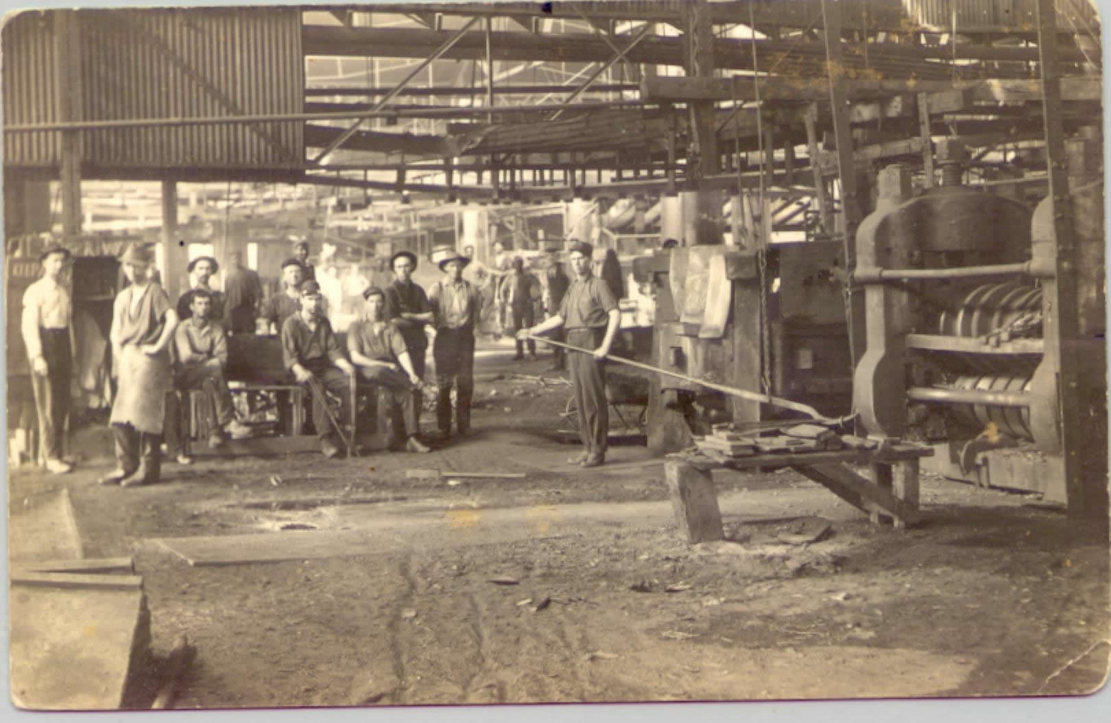 Iron Rolling Mill Workers