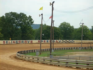 Selinsgrove Speedway Turns 3 & 4