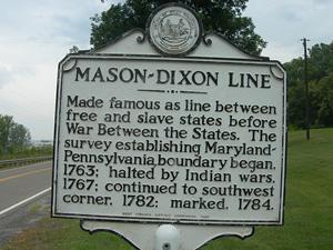Our Most Famous Border: The Mason-Dixon Line | Pennsylvania ...
