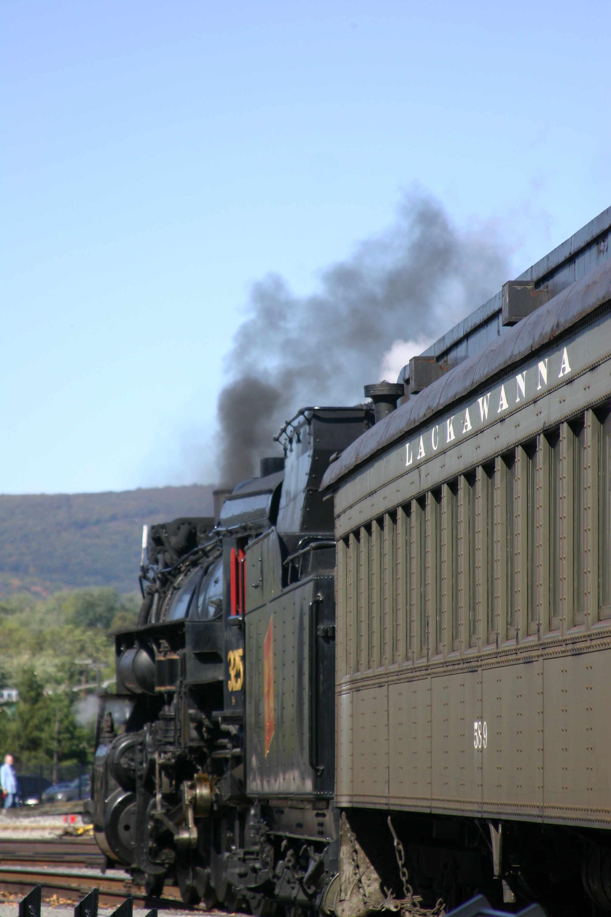 Excursion Train from Steamtown