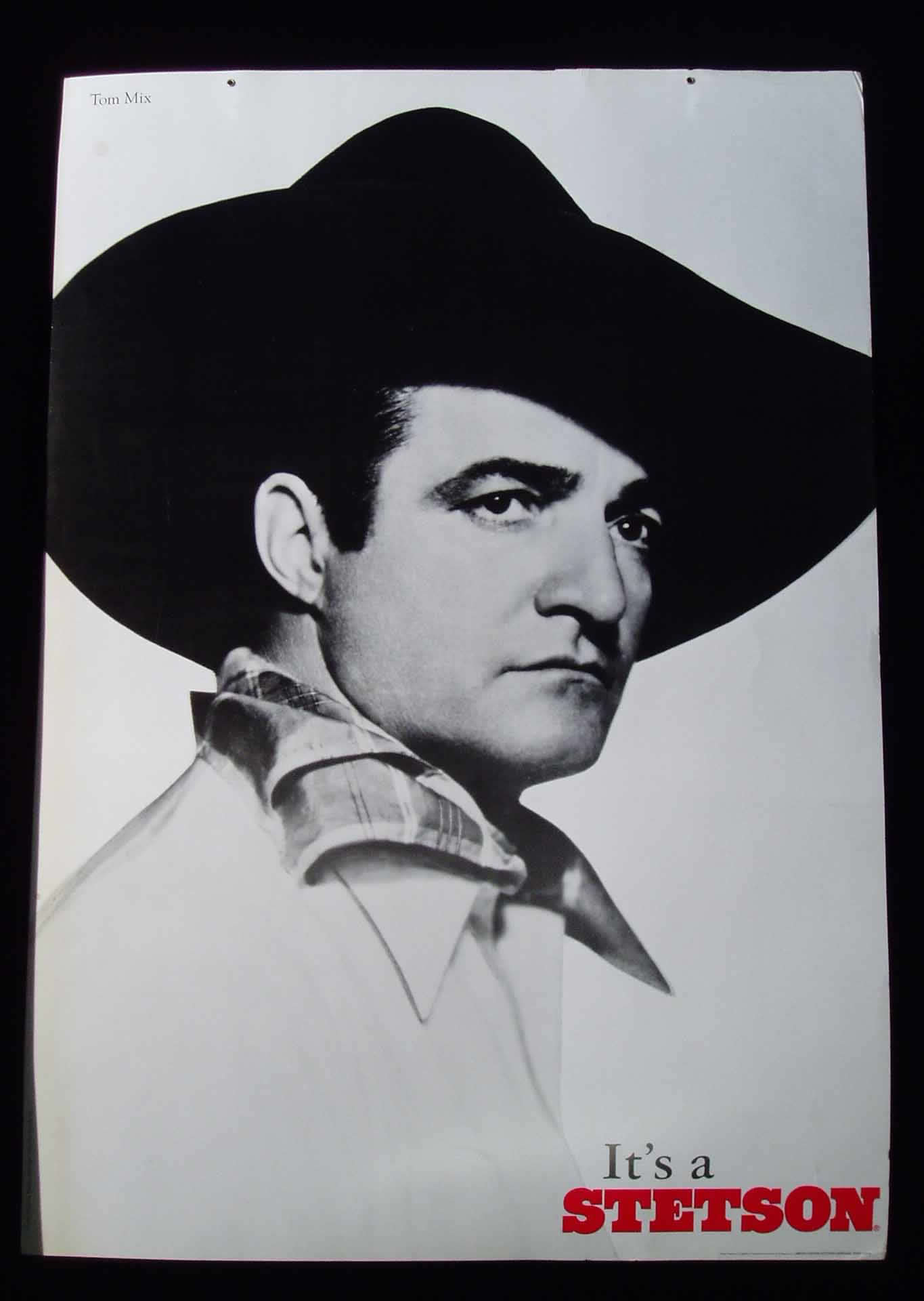Tom Mix wearing a Stetson