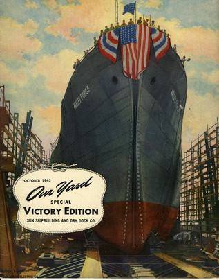 Cover of October 1945 Editiong of Our Yard