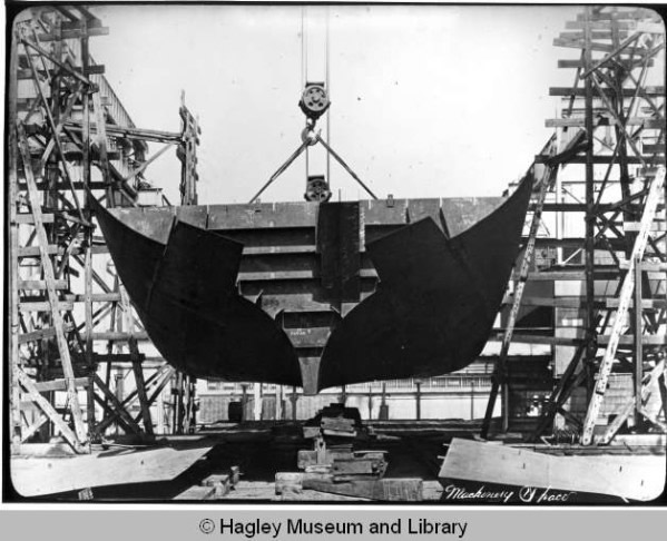 SS White Flash while being built