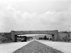 Pennsylvania Turnpike in 1942