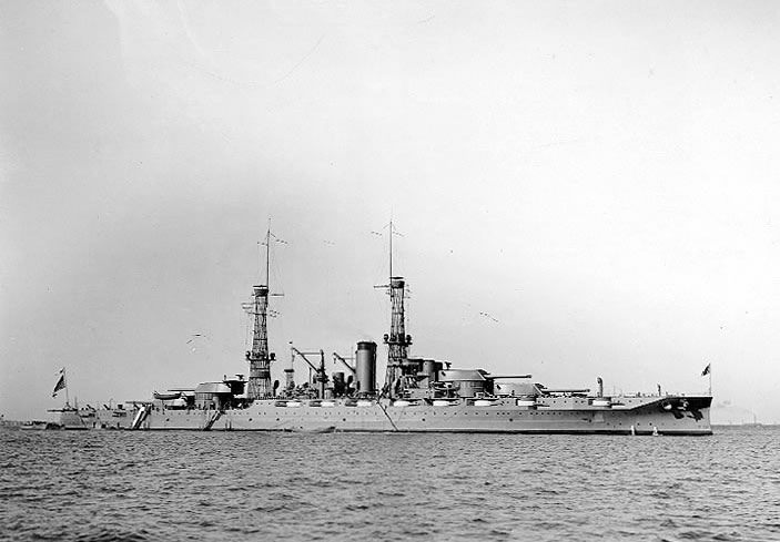 U.S.S. Pennsylvania in 1916